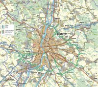 Maps of Budapest districts