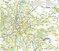 Схема Будапешта
