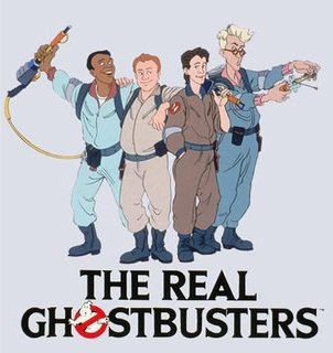 Мультфильм The Real Ghostbusters - Szellemirtók