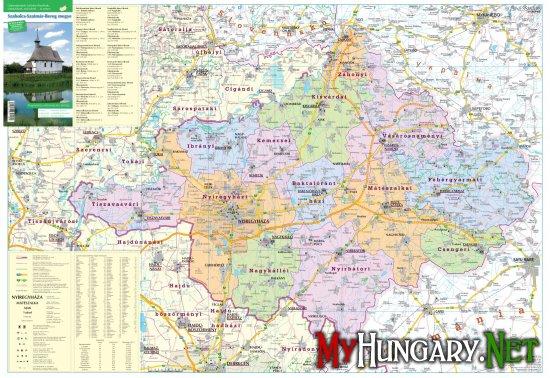 Список населенных пунктов Венгрии, которые можно посетить с венгерской карточкой малого пограничного движения