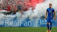 УЕФА хочет наказать венгерских болельщиков