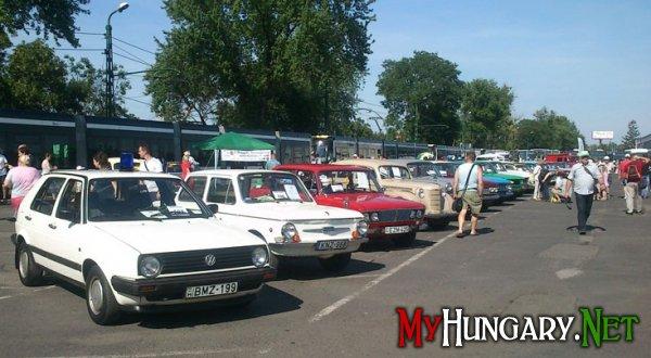 Выставка ретро-автомобилей и транспорта в Мишкольце (фоторепортаж)
