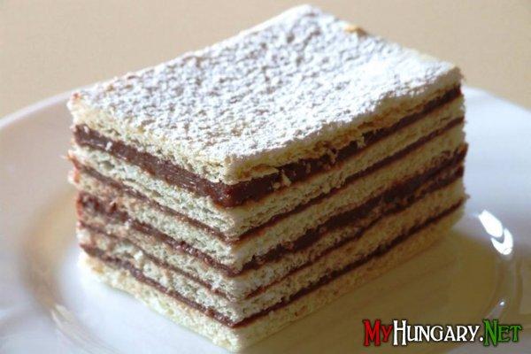 Hatlapos – венгерский шестислойный торт