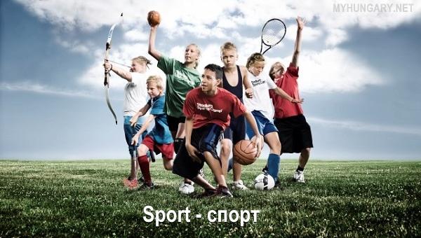 Венгерский язык - Спорт (Sport) » МОЯ ВЕНГРИЯ