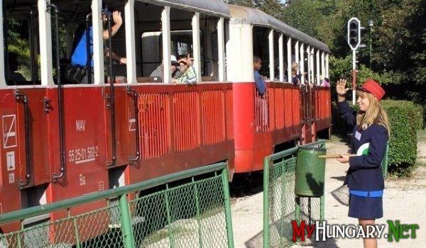 Детская железная дорога в Венгрии самая длинная в мире
