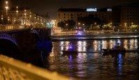 В Будапеште затонул прогулочный теплоход